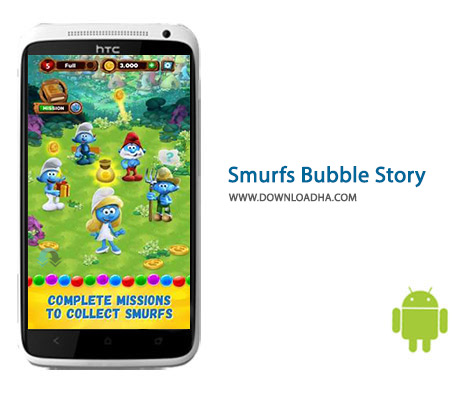 کاور-Smurfs-Bubble-Story